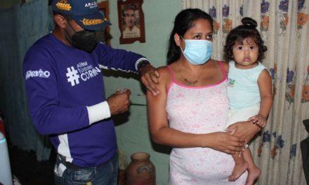 Veinte comunidades mariñenses favorecidas con jornada de vacunación casa a casa contra la Covid-19