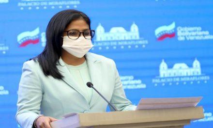 Vicepresidenta Delcy Rodríguez condena ataques registrados desde EE.UU. contra el sistema del Banco de Venezuela que afectó a más de 14 millones de usuarios