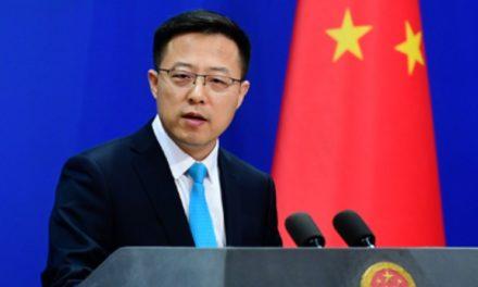 China acusa a EE.UU., Reino Unido y Australia de socavar la estabilidad y la paz