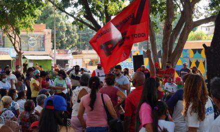 Alcalde Rafael Morales aprobó alumbrado para las 46 calles del barrio Santa Rosa