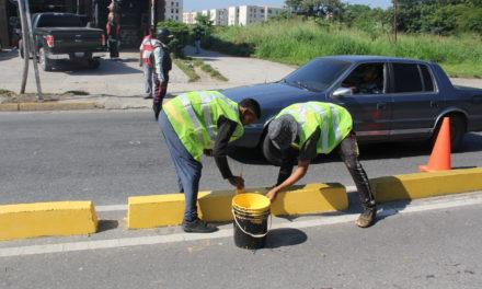Alcalde Rafael Morales ejecuta Plan de Embellecimiento en avenida Constitución de Maracay
