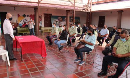 Defensoría del Pueblo dictó taller sobre Derechos Humanos a funcionarios policiales en el Municipio Sucre
