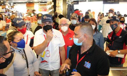 Sundde y autoridades municipales verificaron cumplimiento de nueva expresión monetaria en el municipio Sucre